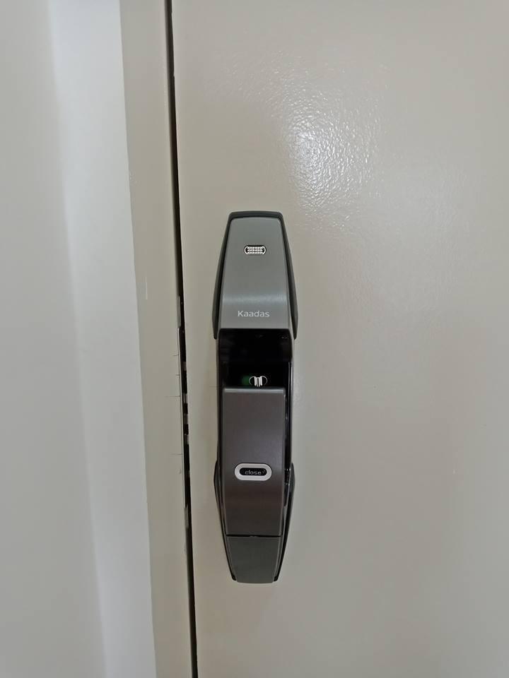 Lắp đặt khóa điện tử kaadas k8
