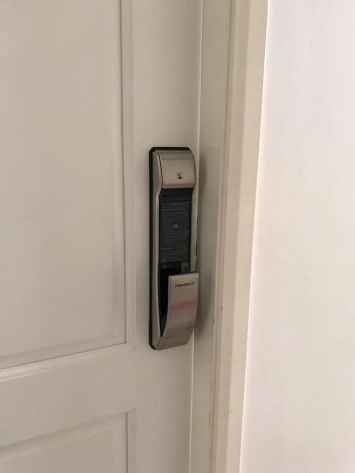 Lắp đặt khóa điện tử Kaadas KDS K7 phiên bản Sliver